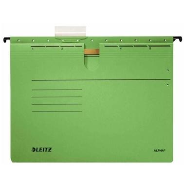 Leitz Telli Alpha Askılı Dosya Yeşil Renkli